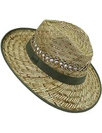EveryHead Fiebig Niñas Sombrero De Paja Verano Playa Vacaciones Equinácea Gorro  Fiesta Unisex Con Banda Acanalada Un Color Para… 09188cfae2c