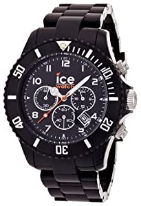 ice watch herren armbanduhr chrono analog quarz kunststoff ch bk b ice watch. Black Bedroom Furniture Sets. Home Design Ideas