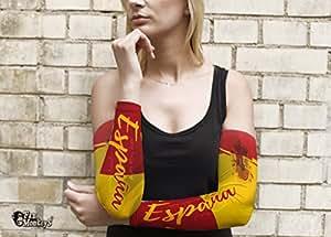 Spanien 2 tlg. Frauen Armling Armstulpen Fan Ärmel Fanartikel Fussball