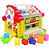 GoAppuGo Plastic Learning House Baby Birthday Activity Play Centre Gift for 1-3 Year Old (gag-etoy-8)
