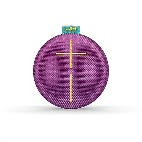 Enceinte Bluetooth ultra-portable UE ROLL - Étanche, Résistante aux Chocs – Violet/Aqua/Jaune