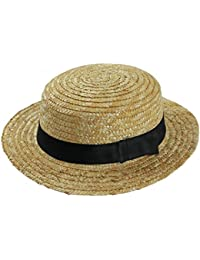 65a93cbe2fdff 24 X STRAW BOATER HAT FANCY DRESS ACCESSORY HAT WITH BLACK BAND   BOW  BARBER SHOP