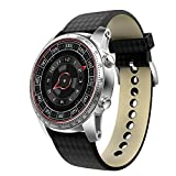 Yaal Smart Watch Android 5.1 Système D'exploitation Intelligent Health Tracker De Fréquence Cardiaque, GPS, Bluetooth, WiFi 3G Smart Watch De Carte SIM,A