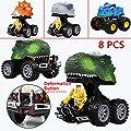 XuBa Dinosaurier Modell Mini Spielzeug Trägheitsverformung Roboter LKW lustige Kinder Geschenk von XuBa