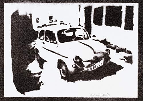 Poster SEAT 600 Automóvil Clásico Grafiti