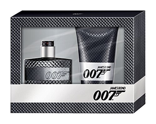 James Bond 007 Geschenk-Set/ EDT 30ml & Deo 50ml & Shower Gel 50 ml/ for Him/ für Ihn / Eau De Toilette/ Duschgel/ Deospray