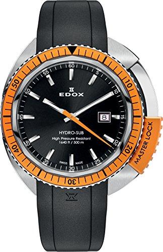 EDOX Orologio unisex EDOX HYDRO SUB al quarzo gomma 532003oca nin