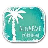 2 x 30cm/300 mm Algarve Portugal Autocollant de fenêtre en verre Voiture Van Locations #6339