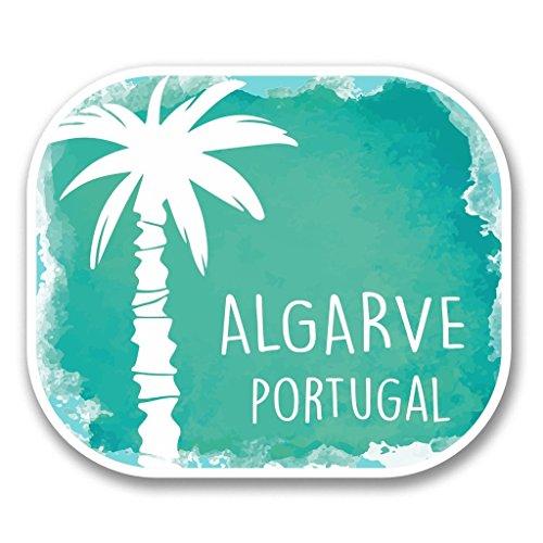 Preisvergleich Produktbild 2 x Algarve Portugal Vinyl Aufkleber Aufkleber Laptop Reise Gepäck Auto Ipad Schild Fun 6339 - 10cm / 100mm Wide