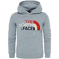 The North Face Boys Drew Peak Hoodie -Fall 2017- Tnflightgreyhtr
