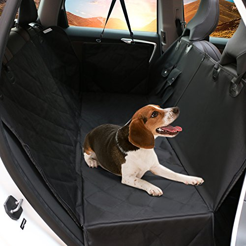 160cm x 143cm R/ücksitz R/ückbank Schondecke Schutzdecke Sitzschutz Kofferraumschutz f/ür alle Automodelle mit Sicherheitsgurt PiCoon Hundedecke Auto//Autoschondecke f/ür Hunde in schwarz wasserdicht