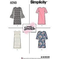 Simplicity patrón de Costura para Vestidos de Mujer (Tallas 14 – 16 ...