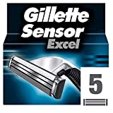 Gillette 97302251 Sensor Ricarica Exce, 5 pezzi