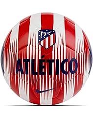Nike ATM Nk Prstg Balón, Unisex Adulto, Blanco/Rojo (Sport) / Azul (Deep Royal), S