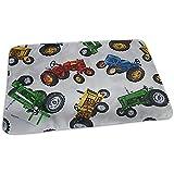 Wickelunterlage,Oldtimer Traktor Auto Wickelunterlage Tragbare Wasserdichte Wickelunterlage Für Jungen Und Mädchen 65X80 Cm