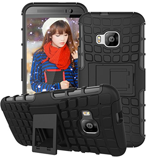 htc-one-m9-hulle-nnopbeclik-hybrid-2in1-tpu-pc-schutzhulle-cover-case-silikon-rustung-armor-dual-lay