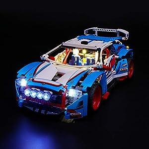 LIGHTAILING Set di Luci per (Technic Auto da Rally) Modello da Costruire - Kit Luce LED Compatibile con Lego 42077 (Non… 0716852282104 LEGO