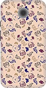 The Racoon Lean printed designer hard back mobile phone case cover for Moto X 2nd Gen. (Purple Roc)