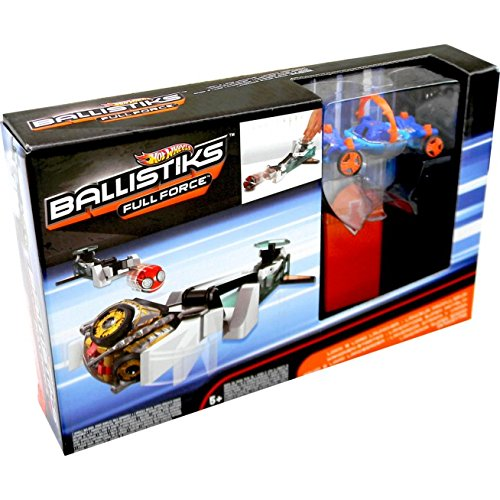 Hot Wheels Ballistiks Full Force Lock and Load Launcher (Hotwheels Autos Launcher)