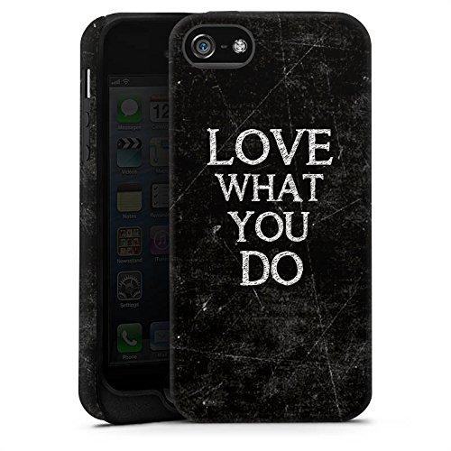 Apple iPhone X Silikon Hülle Case Schutzhülle Love Liebe Sprüche Tough Case matt