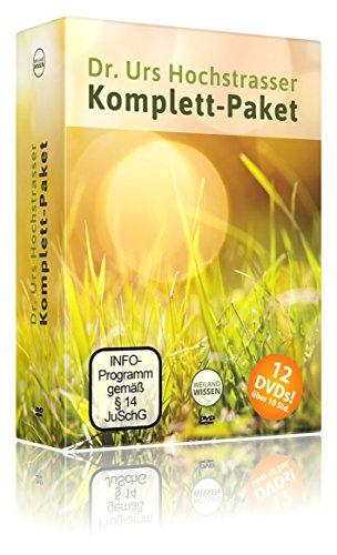 Dr. Urs Hochstrasser Rohkost Komplettpaket - 12 Vorträge auf DVD zum Thema Rohkost Rezepte, Lebensmittel & Ernährung - auch für Anfänger geeignet