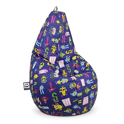 HAPPERS Puff pera Estampado Monstruos Infantil