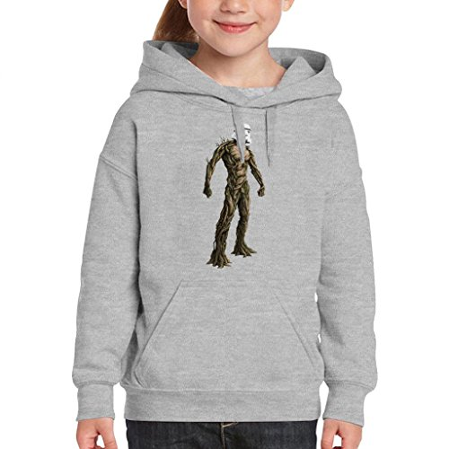 (Groot Guardians of The Galaxy Star Wars Stormtrooper Head Kid's Hooded Sweatshirt)