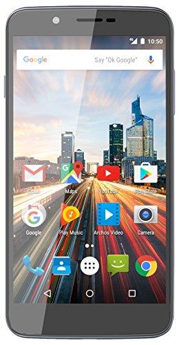 Archos 55 Helium Smartphone débloqué 4G (Ecran: 5,5 pouces - 16 Go - Double SIM - Android) Gris