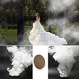 FOONEE 10 Pack Bianco Studio Fotografia Oggetti di Scena Giocattolo Fumo Torta Tabacco Sigarette Maker Torta Posizione per Studio pubblicitario Mostra cinematografica 2 cm 60 Secondi