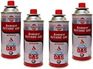 Asmaco 4PCS Butane Gas