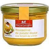 Ducs de Gascogne - Mousseline de patate douce aux éclats de citron 190g