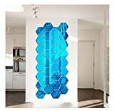 NectaRoy-12-Piezas-de-Moderno-Etiqueta-de-la-Pared-de-DIY-3D-Acrlico-Panal-Hexagonal-del-Espejo