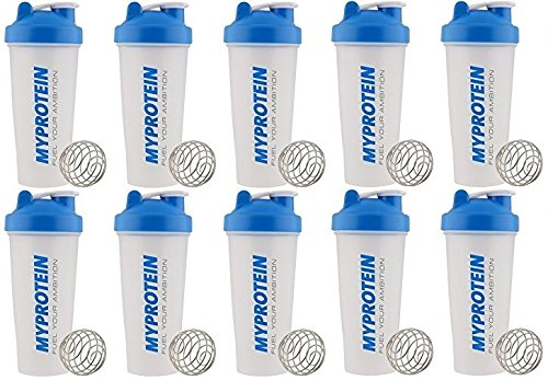 MY PROTEIN Shaker Bottle, Pack of 10