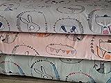 Lottashaus Jersey no101 Stoffpaket 3 Stück 50x70cm Grau