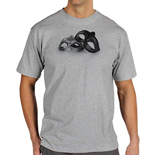 Fifty Shades Of Grey Movie Fsog Masks Background Herren T-Shirt Grau
