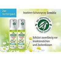 Plantacos Insekten-Schutzspray Sensitiv - 2er Vorteilspack- Mit pflanzlichem Wirkstoff - Schützt zuverlässig vor... preisvergleich bei billige-tabletten.eu