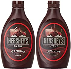 Hershey's Chocolate Syrup, 623g (Pack of 2)