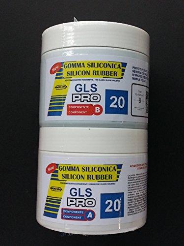 PROCHIMA GLS-PRO 20 SHORE A GOMMA SILICONICA PER COLATA 500GR