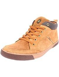 Harley Punch Men's Brown Sneakers - 10 UK