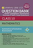 #4: Oswaal CBSE CCE Question Bank with Complete Solutions for Class 10 Term II (October to March 2017) Mathematics