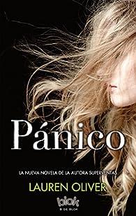 Pánico par Lauren Oliver