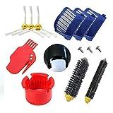 aotengou Kit de Remplacement pour iRobot Roomba 500 série 600 529 585 595 620 630 650 660 Accessoires de Remplacement sous Vide