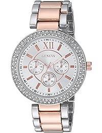 Geneva FMDG003 20mm Alloy Two Tone Watch Bracelet