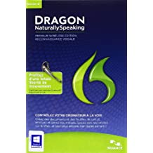 Dragon NaturallySpeaking Premium wireless v12 (avec oreillette sans fil bluetooth)