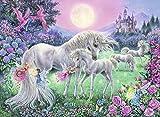 Puzzle 1000 Piezas Puzzles Para Adultos Color Cielo Unicornio,Duende Unicornio niño Rompecabezas Juego Casual De Arte Diyjuguetes Interesantes Amigo Familiar Adecuado