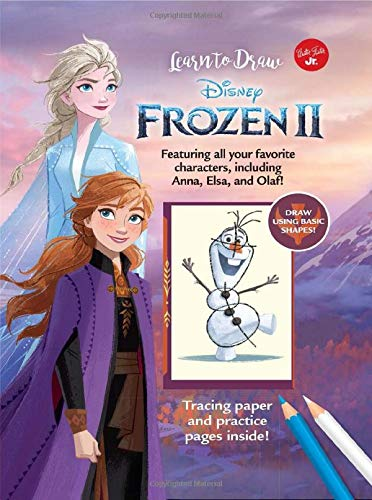 Learn to Draw Disney Frozen 2: Featuring all your favorite characters, including Anna, Elsa, and Olaf! (Licensed Learn to Draw)