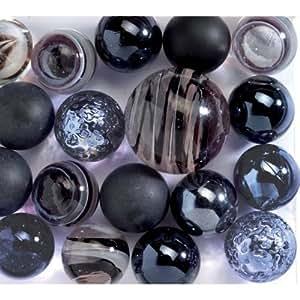 Djeco - Cube de 25 billes noires