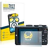 2x BROTECT HD-Clear Protector Pantalla Sony Cyber-shot DSC-HX60 Película Protectora – Transparente, Anti-Huellas