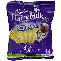 Cadbury Dairy Milk Chocolate with Oreo Mini Biscuits Bag, 82g (Pack of 22)