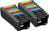 Metro Market 20 Stücke Kompatible Patronen Ersatz für Epson T0615 Tintenpatronen Hohe Kapazität für Epson Stylus D3850 D4200 D68 D68 D68 D88 D88+ DX3800 DX3850 DX3850+ DX4200 DX4800 DX4850 DX4850+